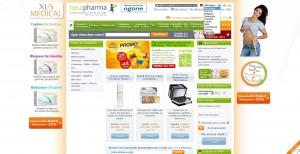 newpharma.be: Länder- und Sprachauswahl