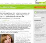 Vertrauensbildung im eCommerce: Interview im Billomat-Magazin