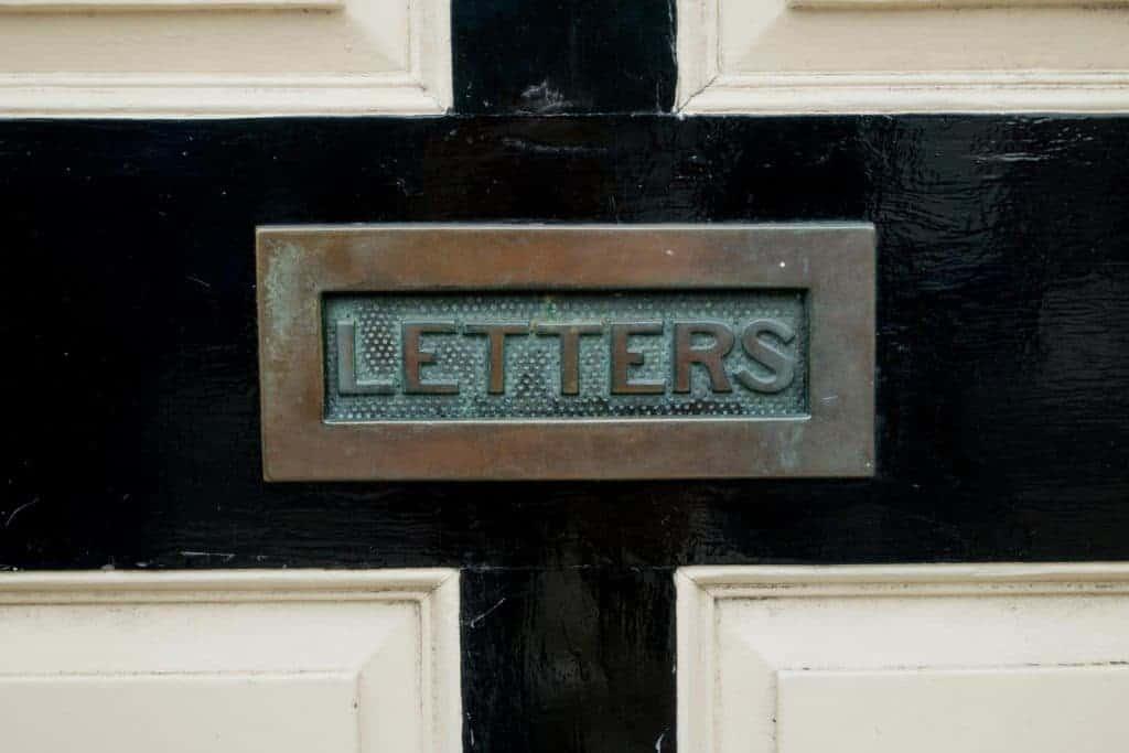 Wie kommt Ihr in den Briefkasten Eurer Kunden? Per Standard-Mail im Bestellprozess ganz problemlos - da lässt sich was draus machen. (Foto: Unsplashed)