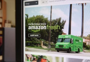amazon fresh und die Logistik