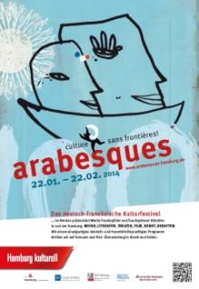 Deutsch-französisches Kulturfestival arabesques in Hamburg