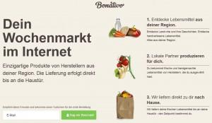 Bonativo - Das neue Lebensmittel-StartUp von Rocket Internet