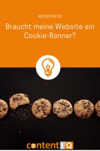 Braucht meine Website ein Cookie-Banner?