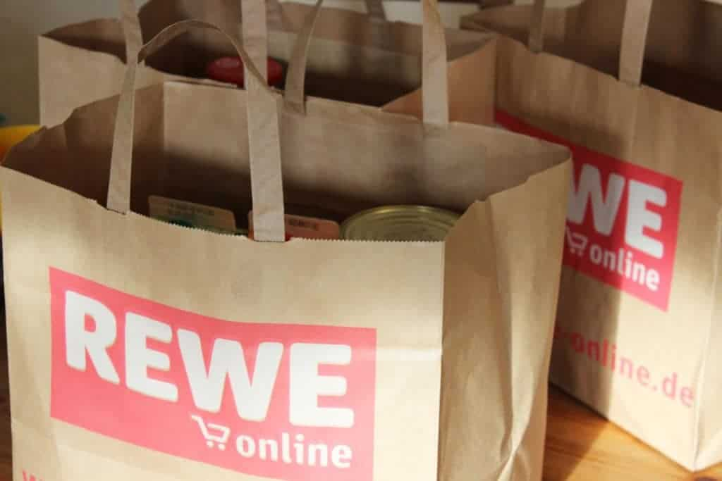 Verpackung im Online-Lebensmittelhandel