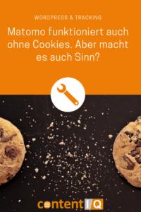 Matomo funktioniert auch ohne Cookies. Aber macht es auch Sinn?