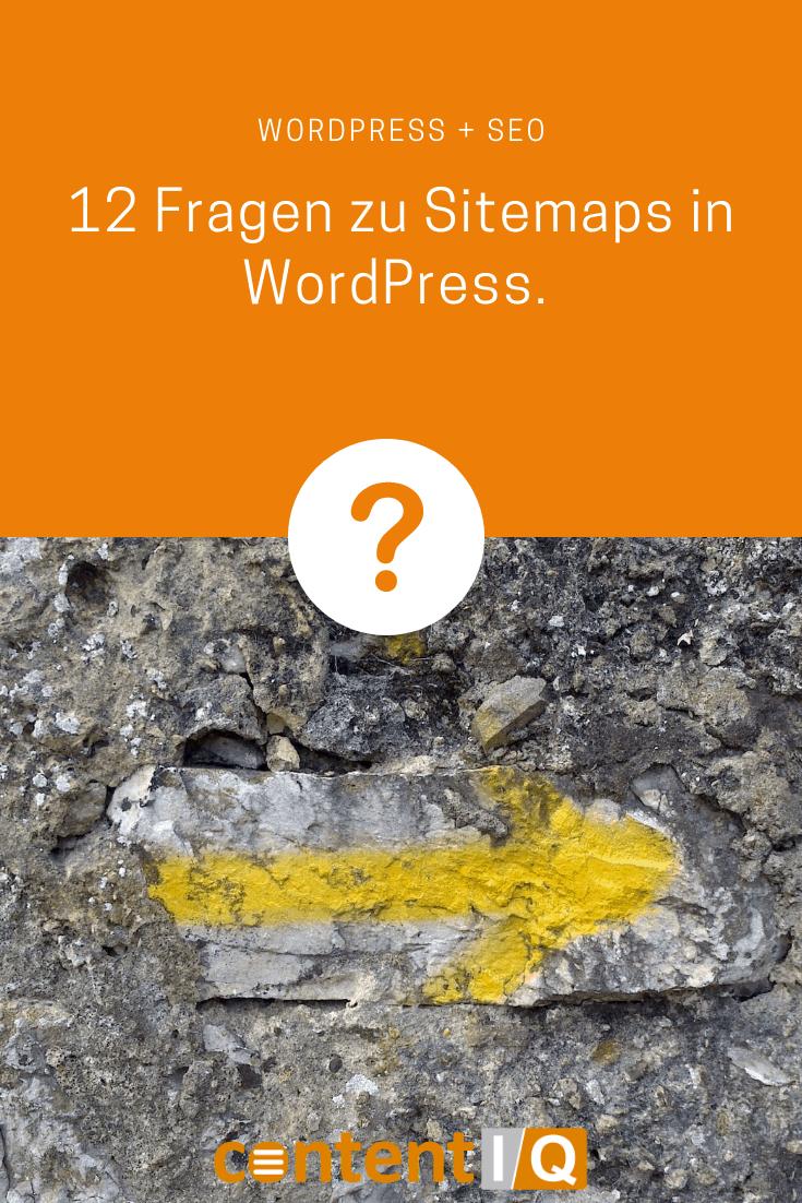12 Fragen zu Sitemaps in WordPress