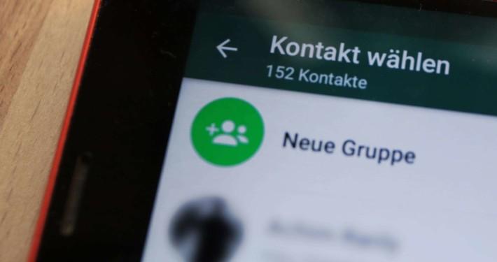 152 Kontakte auf WhatsApp