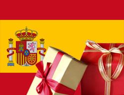 Weihnachtsgeschenke in Spanien