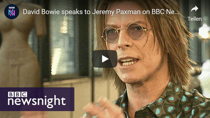 YouTube - David Bowie speaks to Jeremy Paxman