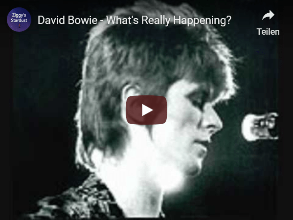 YouTube - David Bowie - What's really happening